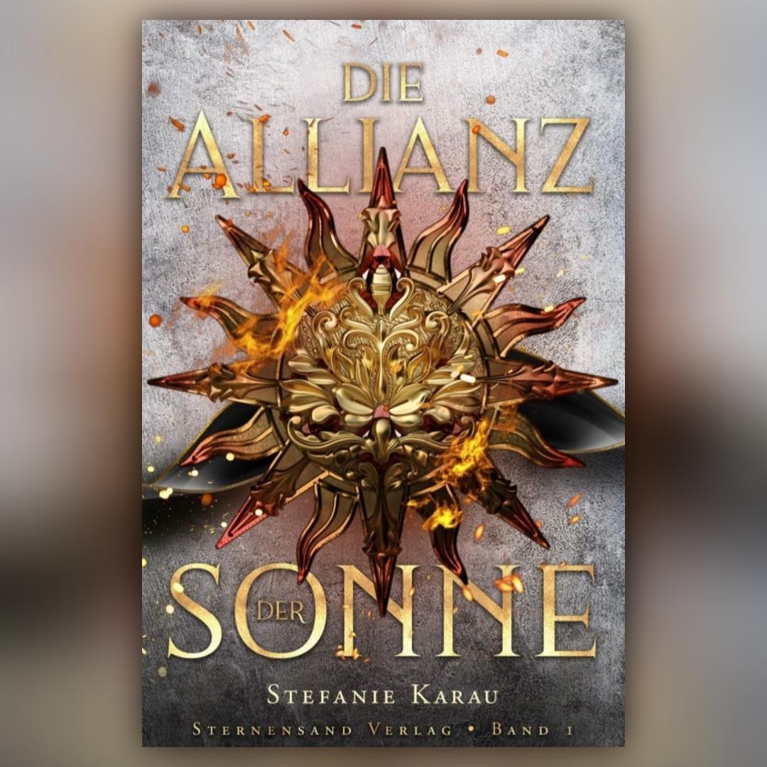Die Allianz der Sonne – Das Cover von Band 1 graphic